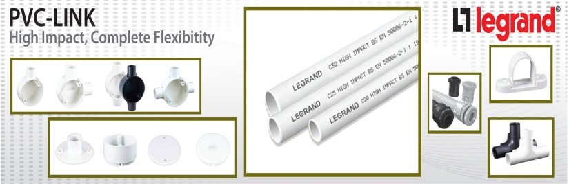 Ống luồn dây điện PVC Legrand