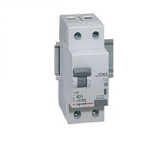 Thiết bị chống dòng rò RCD 2P 80A 30mA RX3 Legrand